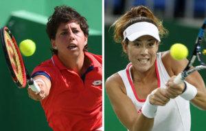 Muguruza y Carla Suárez se despidieron de su sueño olímpico.