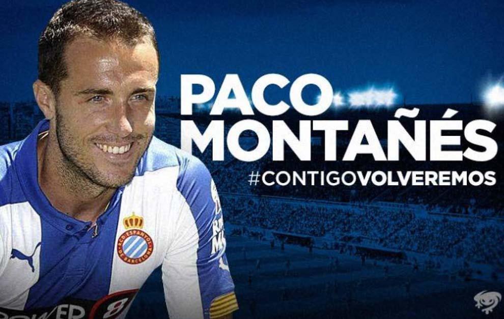 El Levante anuncia la incorporación, como cedido, de Paco Montañés.