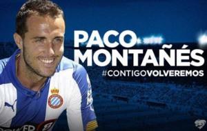 El Levante anuncia la incorporaci�n, como cedido, de Paco Monta��s.