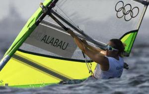 La regatista española Marina Alabau