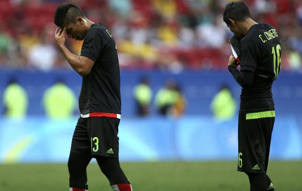 Salcedo y Cisneros lamentan la eliminación mexicana en Río.