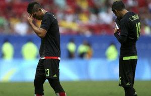 Salcedo y Cisneros lamentan la eliminaci�n mexicana en R�o.
