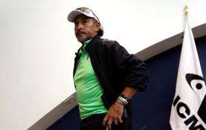 Ra�l Guti�rrez, a su llegada a M�xico tras participar en los Juegos...