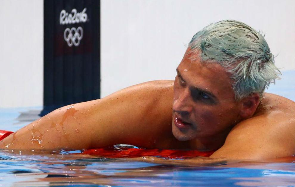 Ryan Lochte durante una de las pruebas disputadas en Río de Janeiro.
