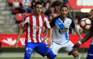 El Deportivo empat� en su �ltimo choque ante el Sporting en el...