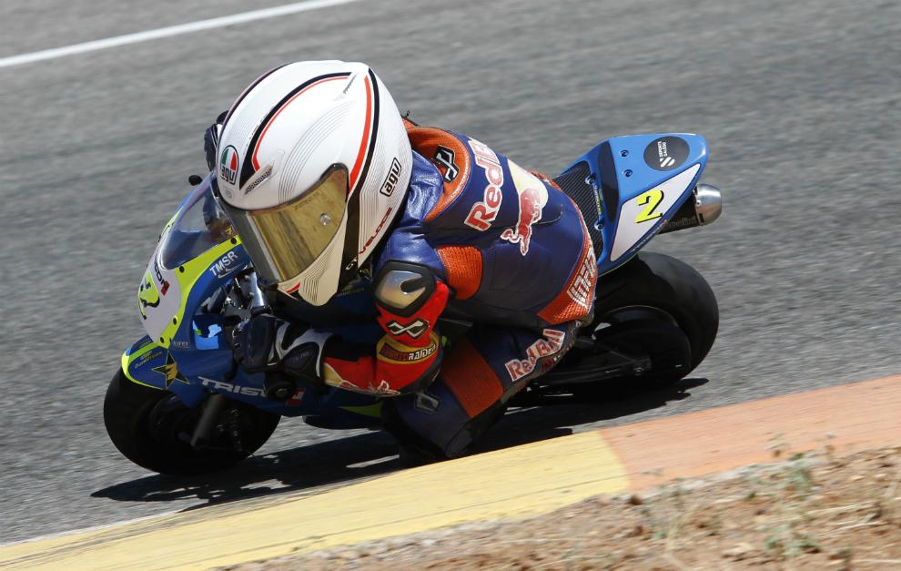 Pablo Olivares durante la prueba en Tarancón