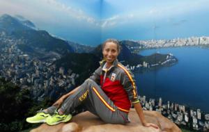 Gemma en la Villa Olímpica