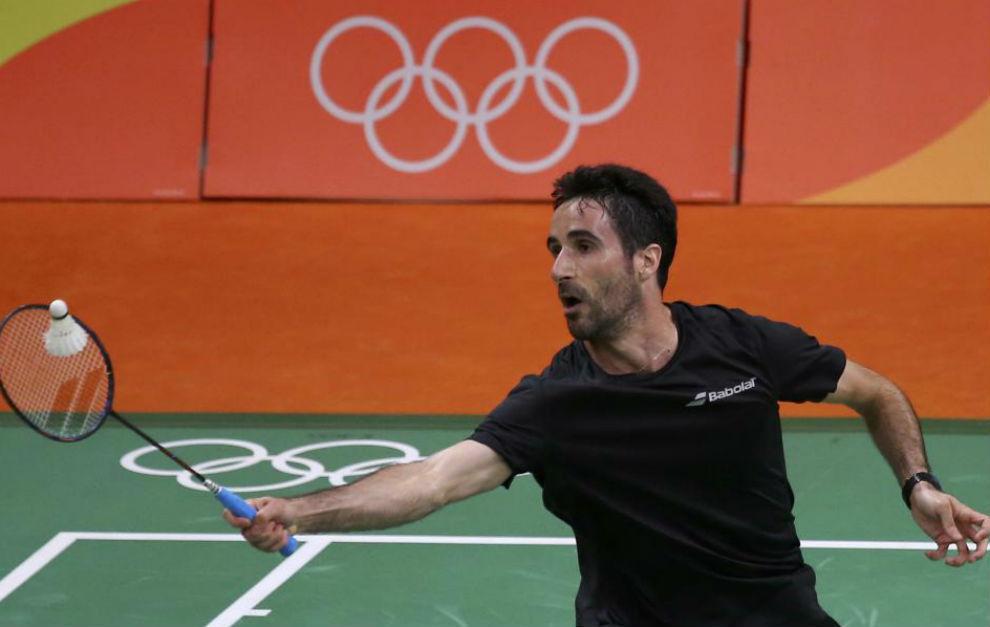 Pablo Abián durante un partido en Río.