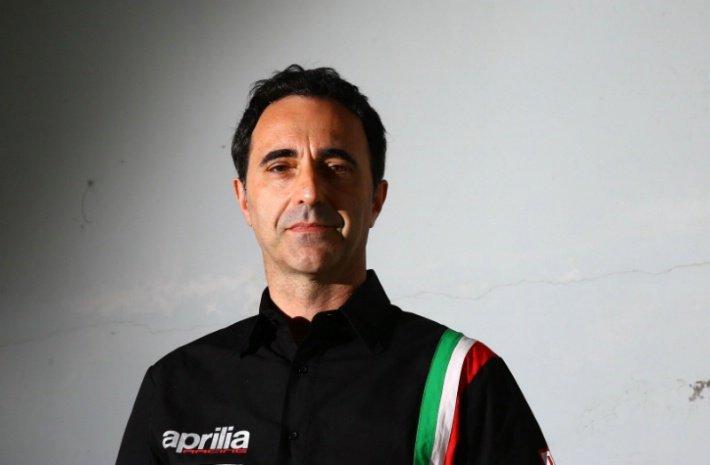 Romano Albesiano, jefe de Aprilia