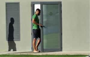 Xavi Torres, en la Ciudad Deportiva