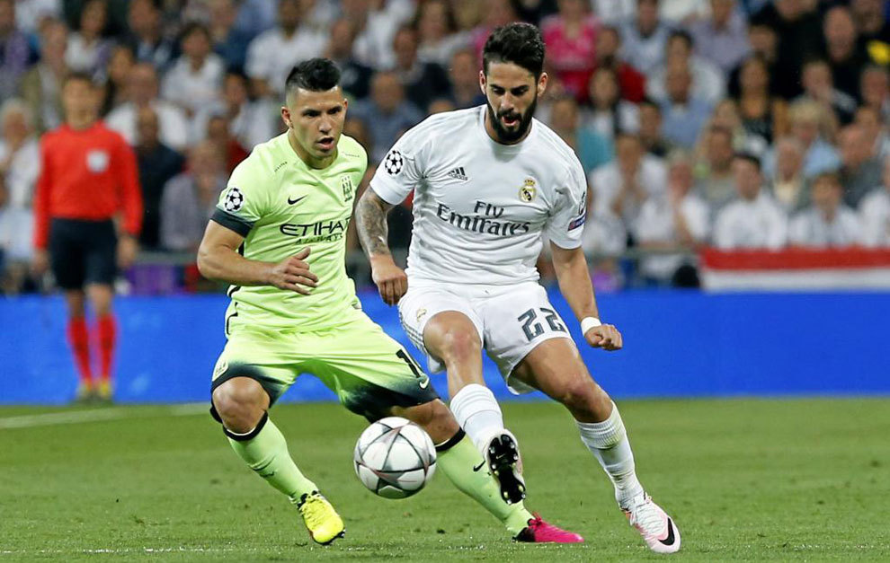 Isco during last season's Champions League semifinal against...