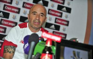Sampaoli, en rueda de prensa previa a la vuelta de la Supercopa
