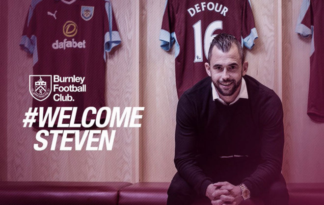 Steven Defour, nuevo fichaje del Burnley