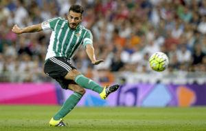 Xavi Torres, en un partido con el Betis