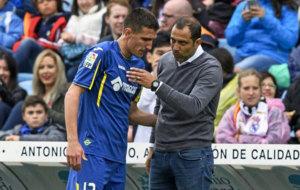 Stefan y Esnaider durante un partido de la temporada pasada