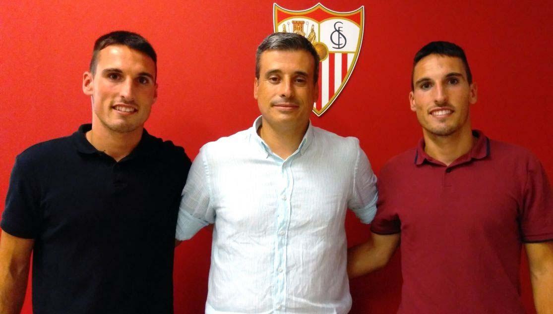 El Sevilla Atlético confirma la incorporación de Borja y Fede San...