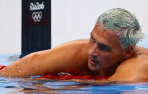 Ryan Lochte, durante la final de los 200 metros estilos de Río 2016.