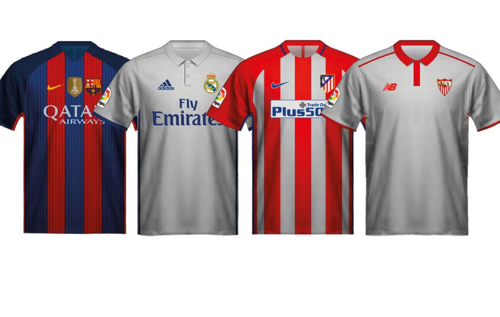 Así son las nuevas camisetas de los equipos de LaLiga - Foto 1 de 21 ... 1c10290a740b1