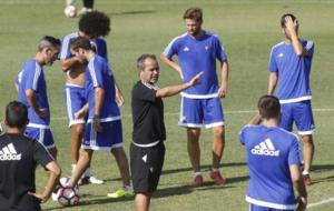 El t�cnico �lvaro Cervera prepara su partido contra el Almer�a este...
