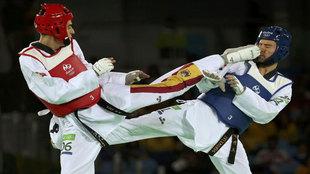Joel González en los Juegos Olímpicos de Río