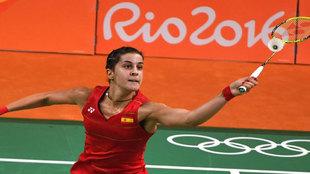 Carolina Marín en los Juegos de Río