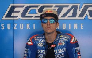 Maverick, durante el GP de Austria