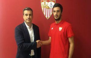 El Sevilla Atl�tico anuncia la contrataci�n de Aburjania