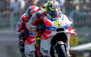 Las Ducati, en cabeza en el GP de Austria