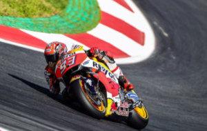M�rquez, en el circuito de Austria