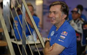 El ex director deportivo de Volkswagen Jost Capito.