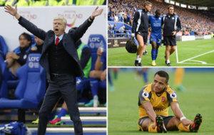 Lo mejor del 0-0 entre Leicester y Arsenal.