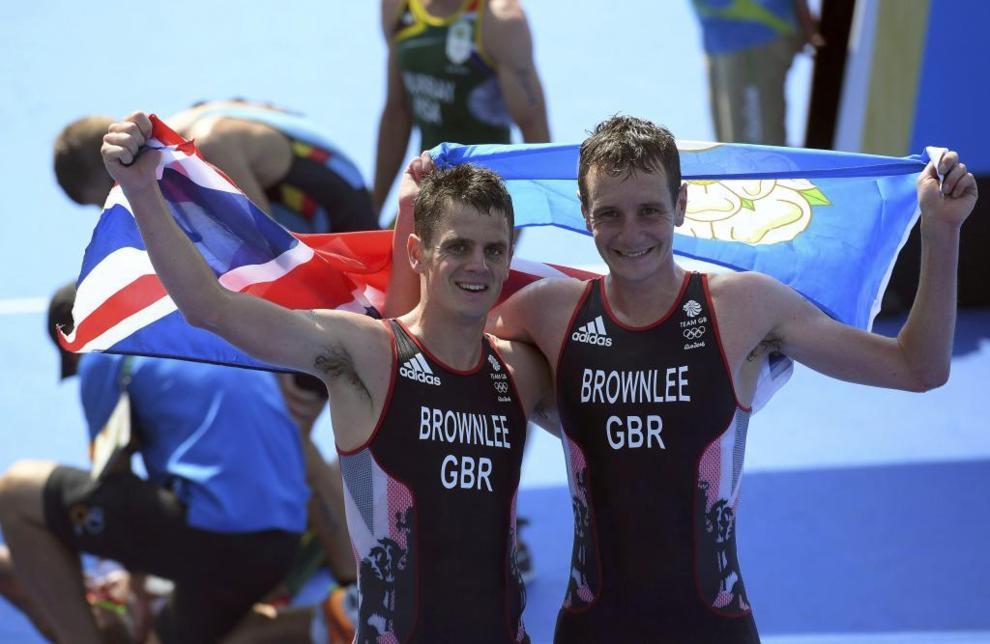 Alistair y Jonathan Brownlee (Gran Bretaña)