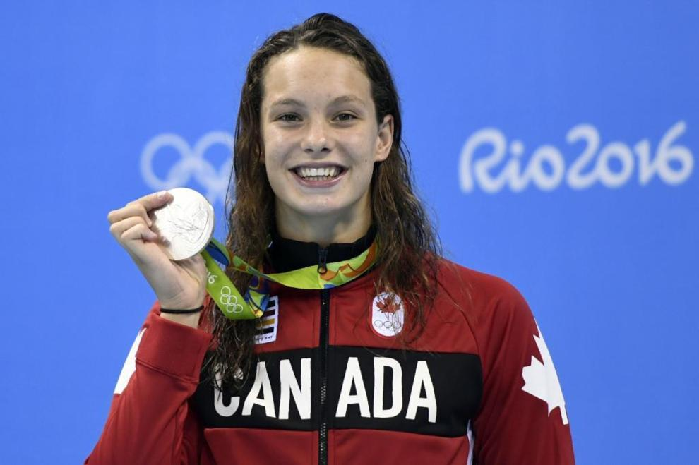 Penny Oleksiak (Canadá)