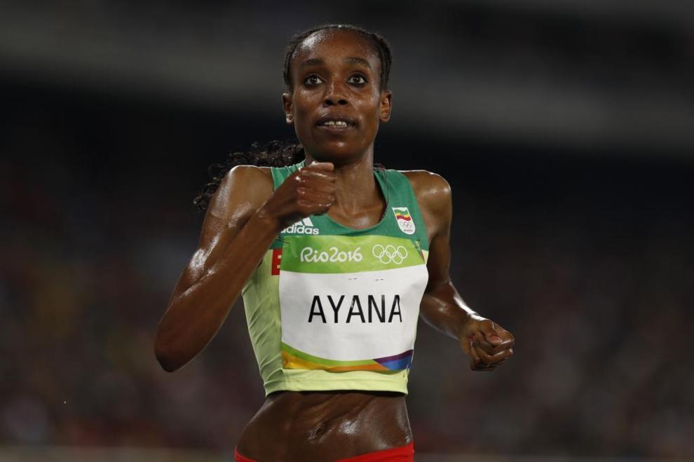 Almaz Ayana (Etiopía)