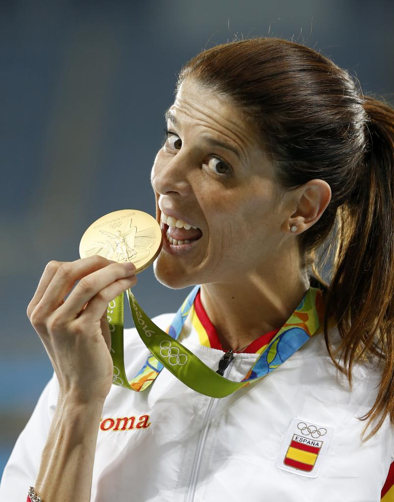 Ruth Beitia, campeona de salto de altura en Río 2016, primer oro del...
