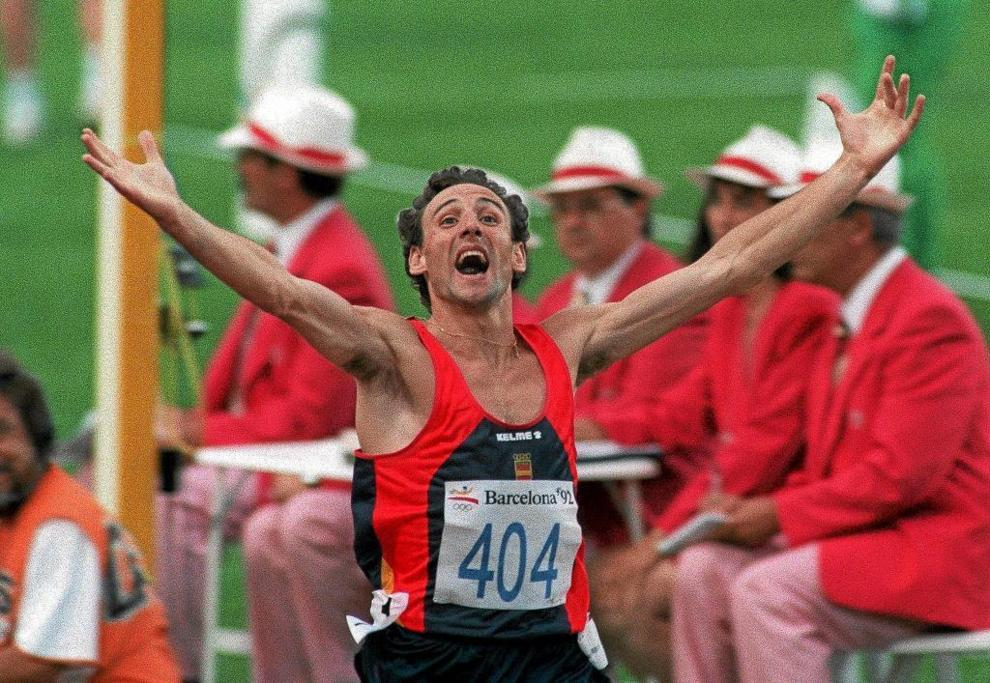 Fermín Cacho, en el 1.500 de Barcelona 92, sumó el primer oro...