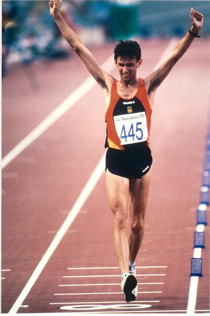 Daniel Plaza consiguió el segundo oro en los 20 kilómetros marcha de...