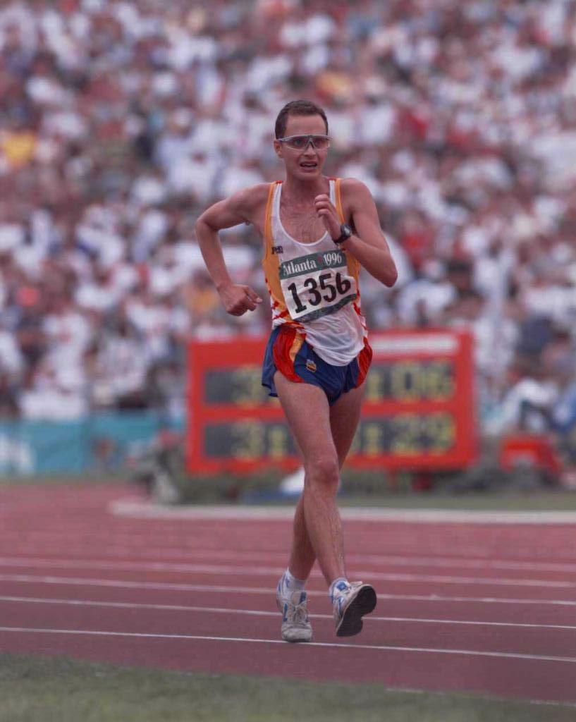 En Atlanta 96 Valentí Massana también se subió al podio: fue bronce...