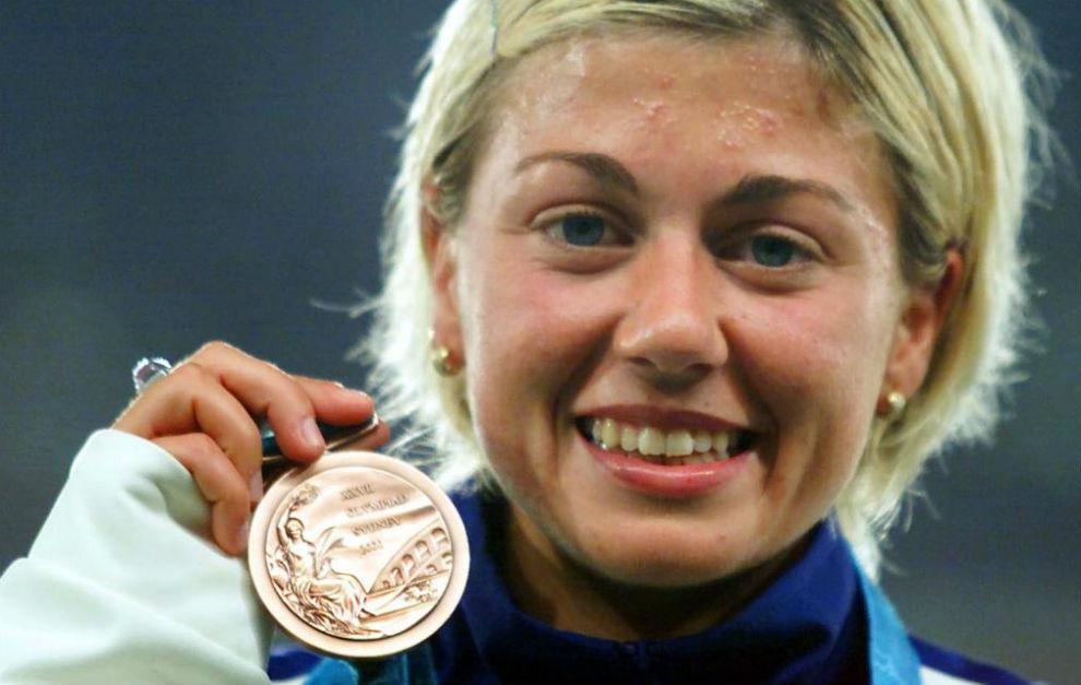 María Vasco, bronce en los 20 kilómetros marcha de Sydney 2000, dio...