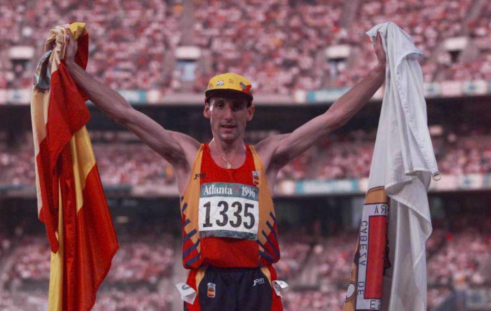 Cacho repitió medalla cuatro años después en Atlanta, en este caso...