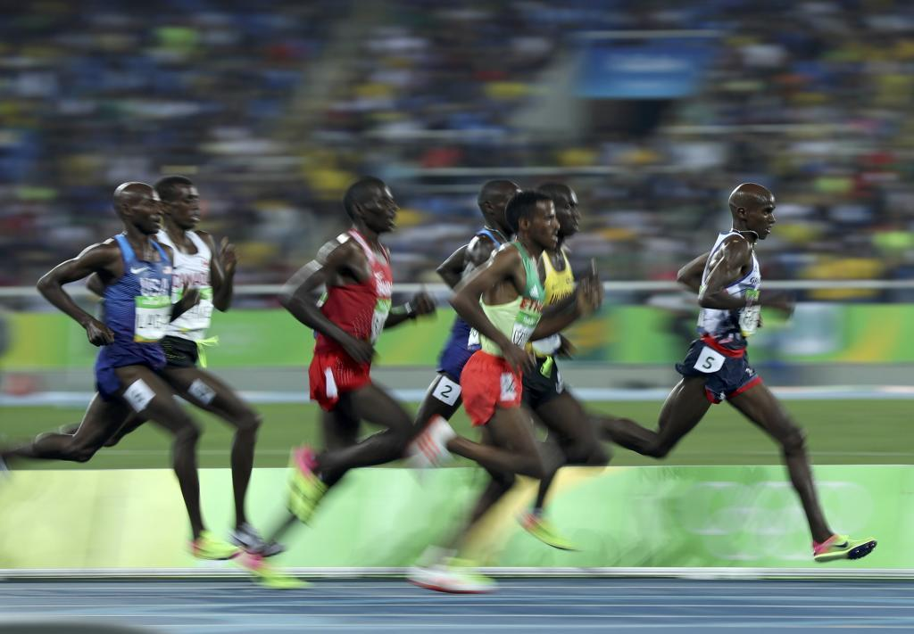 2016 Rio Olympics - Athletics - Final - Men's 5000m Final - Olympic...