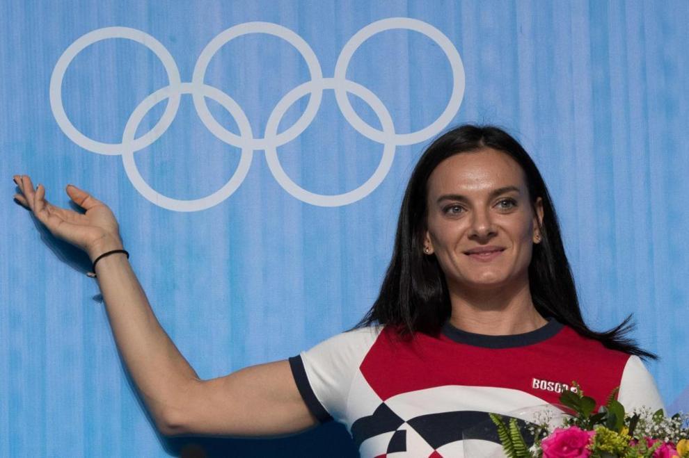 Yelena Isinbayeva (Rusia)