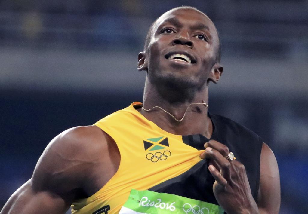 Usain Bolt durante su participación en los Juegos de Río.