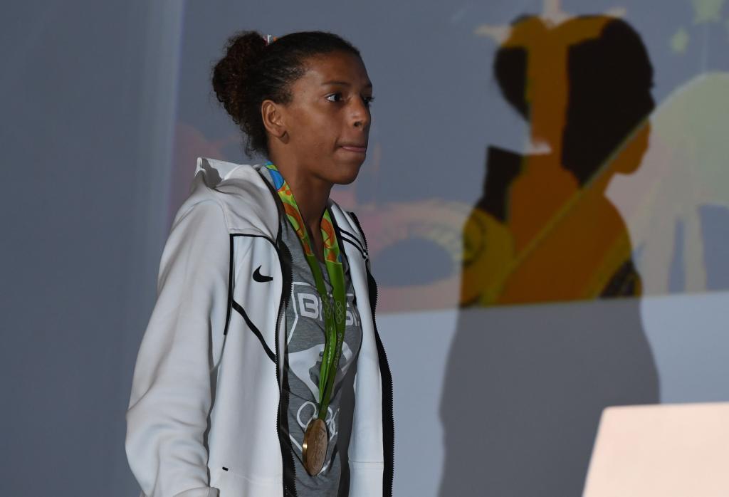Rafaela Silva durante su participación en los Juegos de Río.