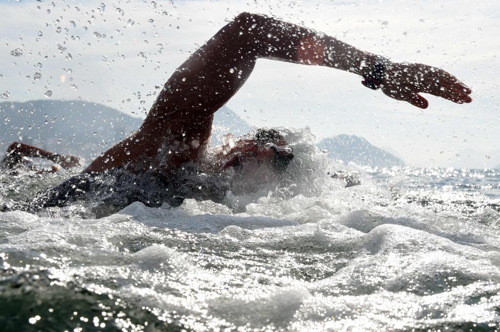 Erwin Maldonado durante su participación en los Juegos de Río.