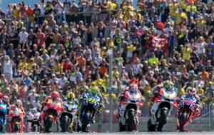 Iannone lidera en al salida del pasado GP de Austria