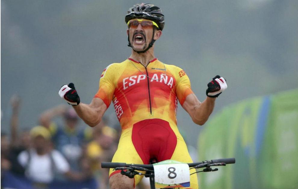 La satisfacción de llegar tercero en una competición olímpica no...