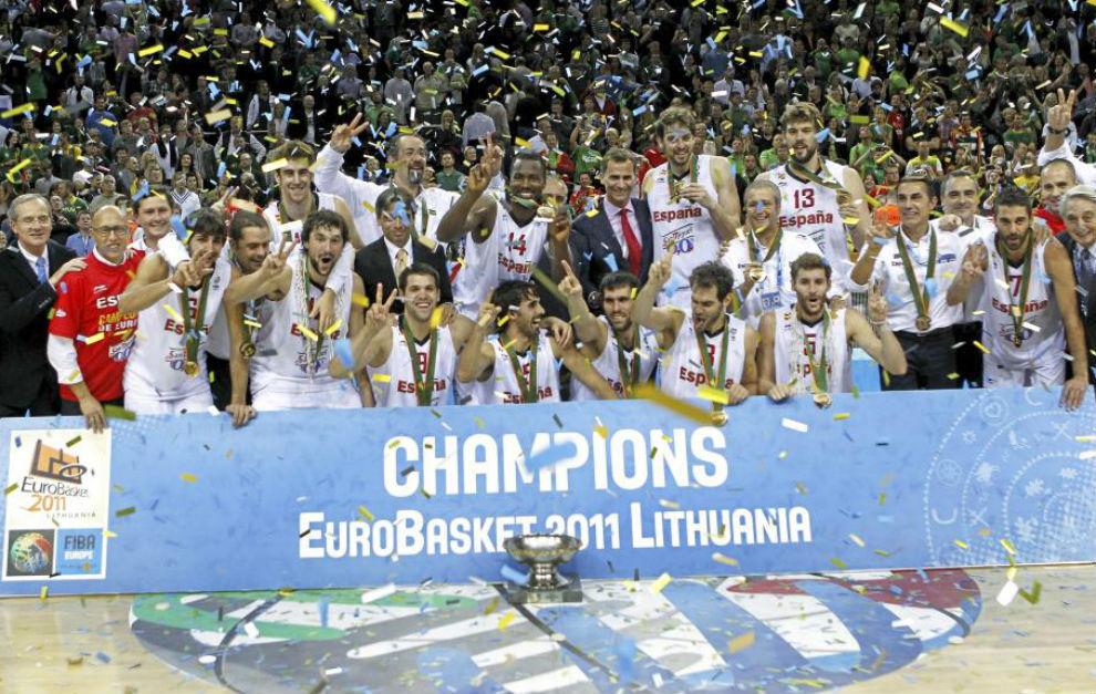 2011 Oro: Europeo de Lituania
