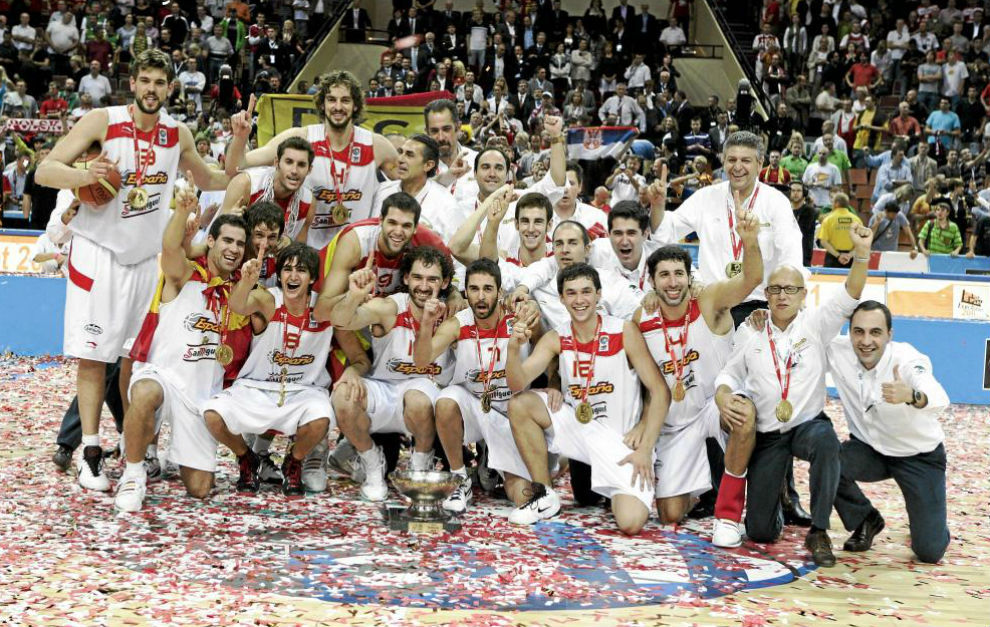 2009 Oro: Europeo de Polonia