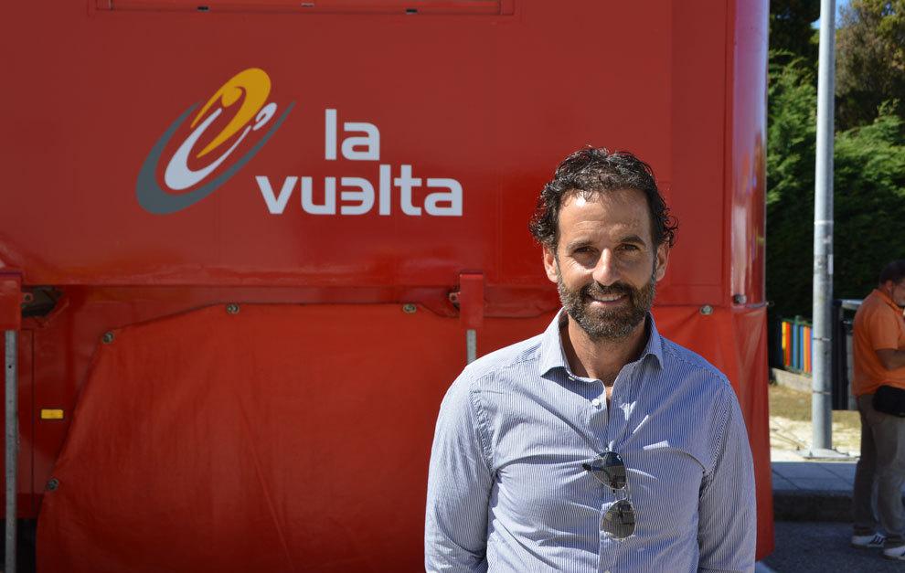 Ezequiel Mosquera en la Vuelta a España